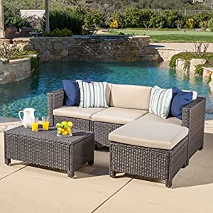 61VoCl0GenL._SS300_ 100+ Black Wicker Patio Furniture Sets For 2020