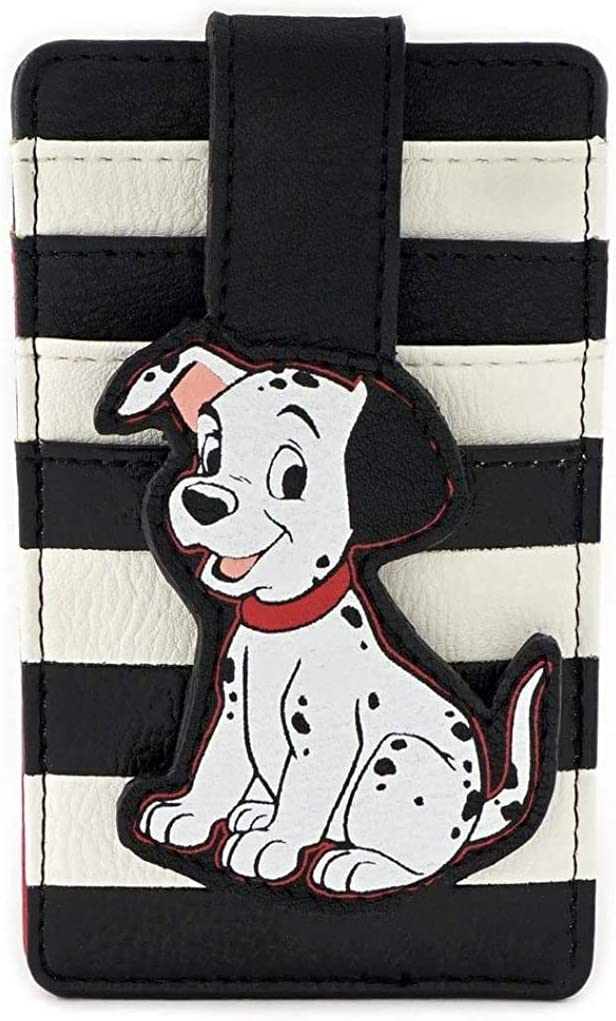 Loungefly Disney 101 Dalmatians Faux Leather Card Holder Wallet