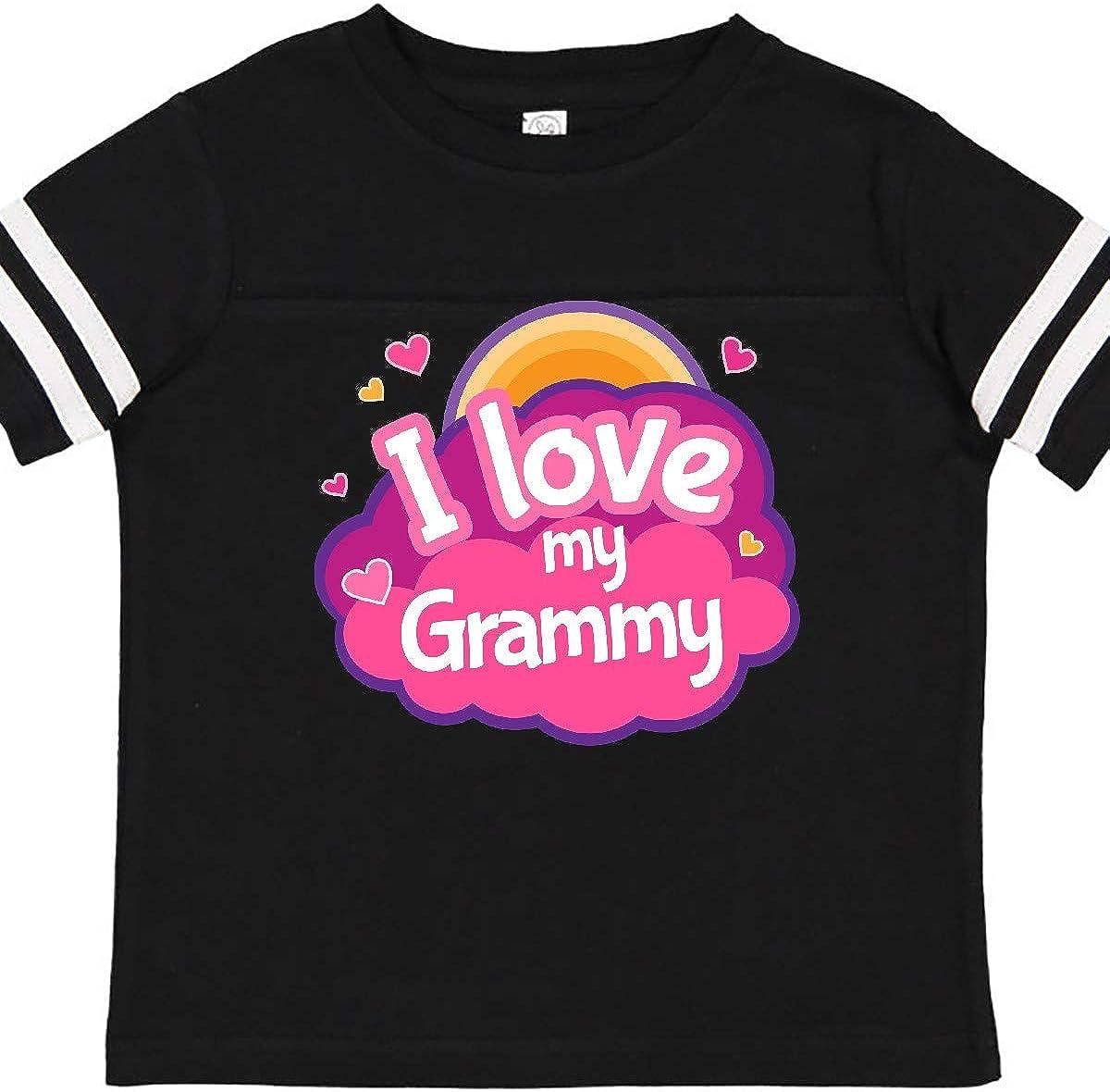 inktastic I Love My Grammy Grandchild Toddler T-Shirt