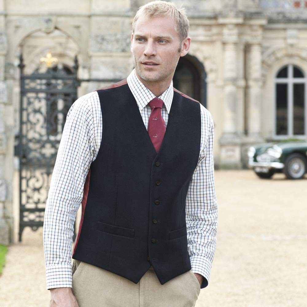 1a16f6942e09c0 Samuel Windsor Men's Country Waistcoat: Amazon.co.uk: Clothing
