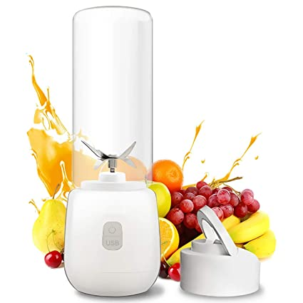 Sulysh Mini licuadora portátil Recargable con batidora para Batidos, Jugo de Frutas desintoxicante, Botella