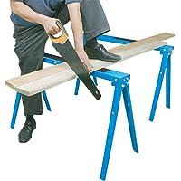 HICO USH1700-B Folding Sawhorse Metal Work Stand (1200lb Weight Capacity)