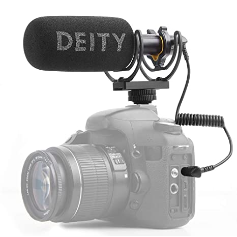 Deity V-Mic D3 Video Mic Micrófono para cámaras réflex Digitales ...