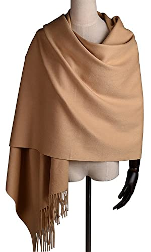 Women Soft Cashmere Wool Wraps...