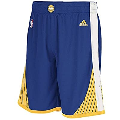 adidas NBA Golden State Warriors Youth Replica New Style Shorts - Blue Boys 8-20