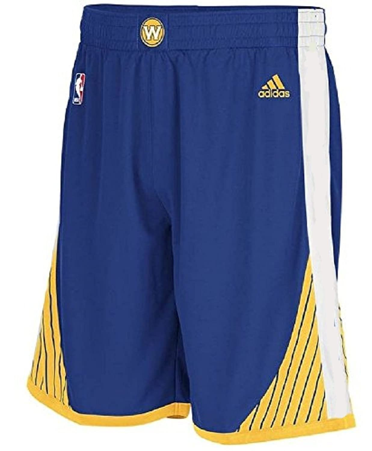 adidas NBA Golden State Warriors Youth Replica New Style Shorts - Blue Boys 8-20 free shipping