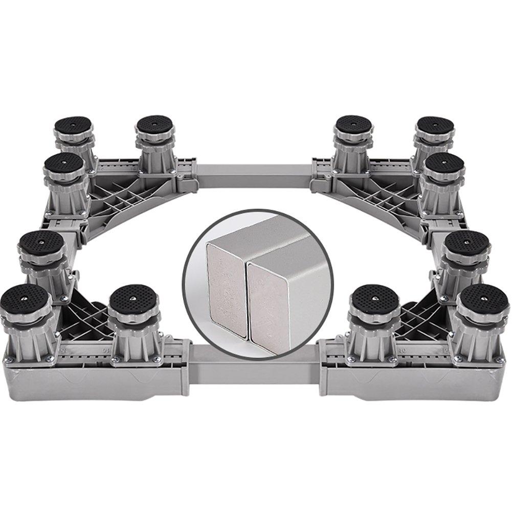 ダブルドア冷蔵庫ベース増強ブラケット調節可能なダブルシリンダー洗濯機ベース (色 : Style2)  Style2 B07FYWNH2H