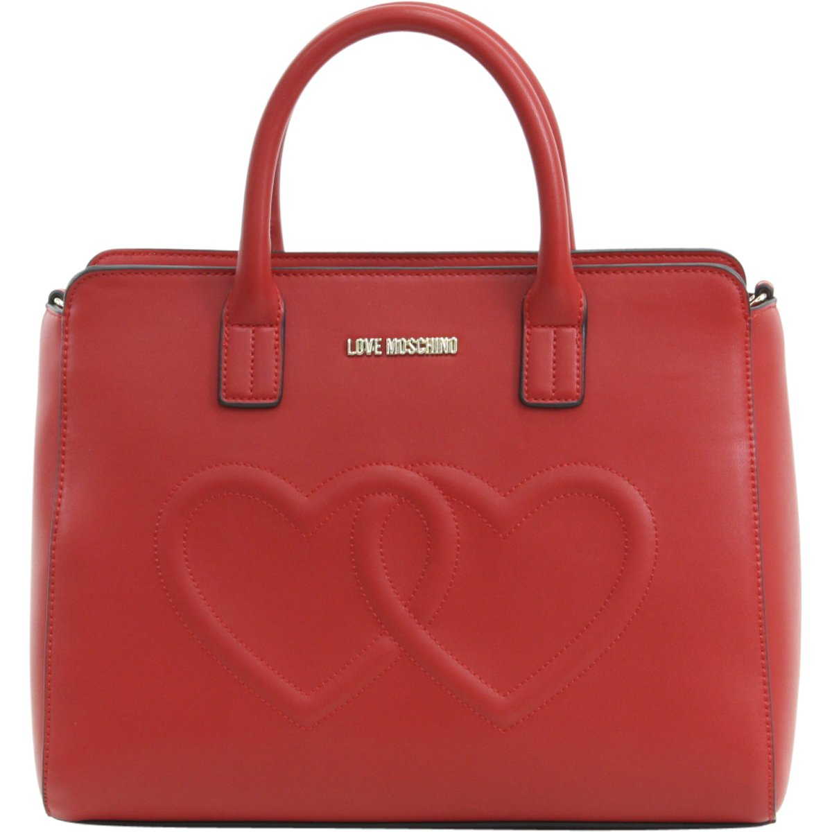 Moschino Women's Love Moschino Shoulder Bag, Red, One Size