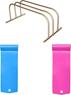 product image for TRC Recreation PVC Drying Rack, Bronze w Pool Loungers