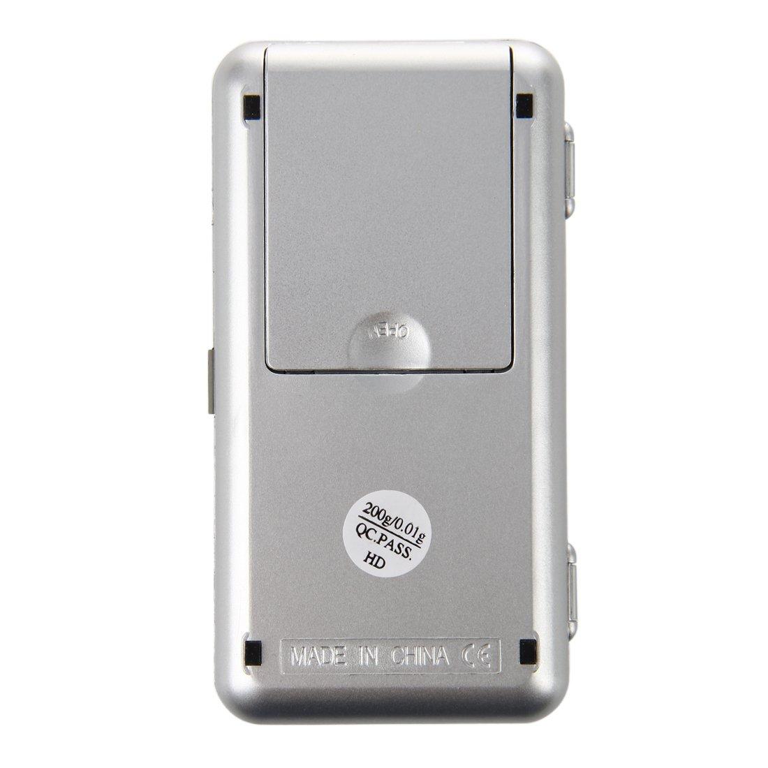 SODIAL Mini Balanza Digital Electronica Peso 0.01-200g R