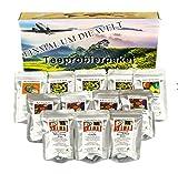 Tee Probierpaket ' einmal um die Welt ' im edlen Geschenkpaket 12 x 25 g (100g/7,96€)