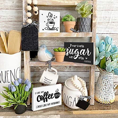 STENCIL set Coffee decor Farmhouse designs COFFEE.TIERED Tray .Small sign stencils Stencil set 10 pc Shelf sitters Coffee tiered tray
