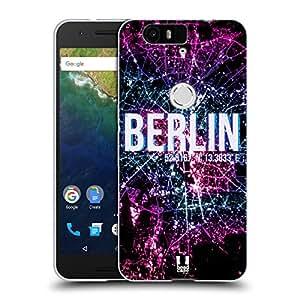 Head Case Designs Berlin City Lights Soft Gel Case for Huawei Nexus 6P
