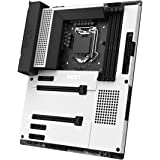 NZXT N7 Z490 - N7-Z49XT-W1 - Intel Z490 Chipset (Supports 10th Gen CPUs) - ATX Gaming Motherboard - Integrated I/O Shield - I