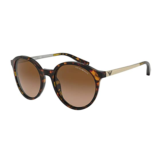 Emporio Armani 0EA4134 Gafas de sol, Havana Brown/Orange, 53 ...