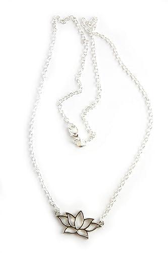 Colgante con el símbolo de la flor de loto/Collar budismo ...