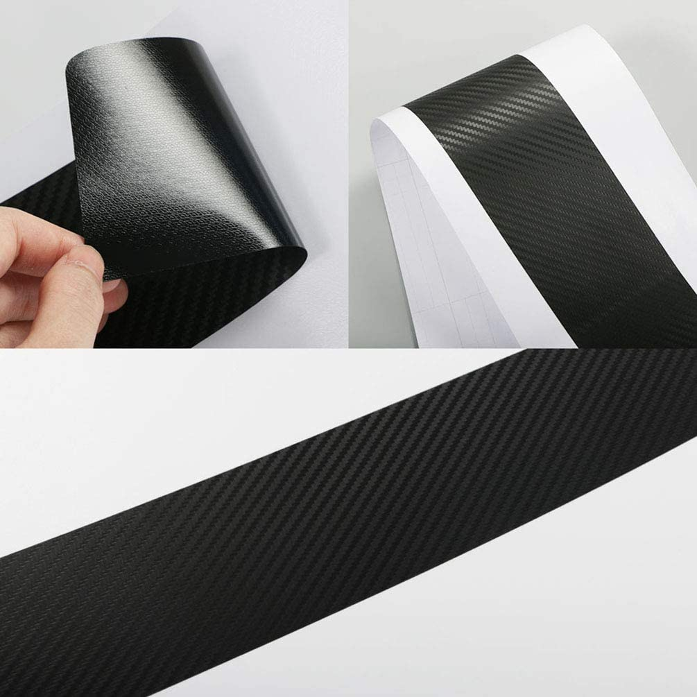 4pcs Carbon Fiber Protector Auto T/üRschwelle Platte Aufkleber F/üR FIAT UNO Autot/üRschwellenschutz Abdeckung Dekor Rutschfestes Anti-Kratz-Zubeh/öR