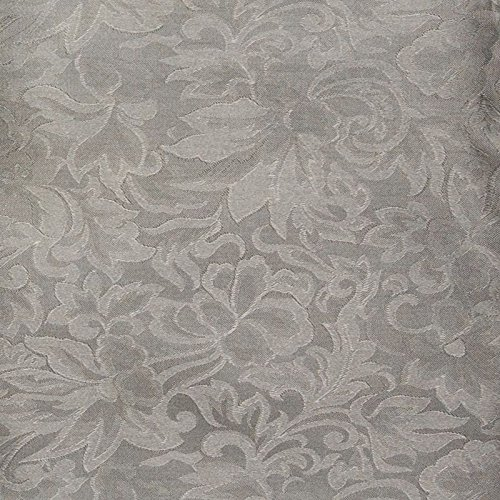 Wyoming Traders Mens Jacquard Silk Wild Rag Scarf Charcoal Gray 34.5'' Square