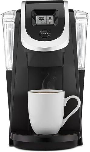 Keurig K250 Single Serve, Programmable K-Cup Pod Coffee Maker, Black Discontinued
