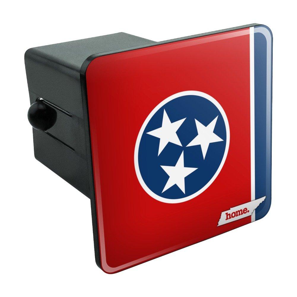テネシー州TNホーム状態フラグ公式ライセンス牽引トレーラーヒッチカバープラグ挿入 1.25 Inch Receivers ブラック TH.125.QQHSA.Z000868_8 B07958Z3X7 1.25 Inch Receivers  1.25 Inch Receivers