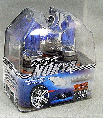 - Nokya Arctic White 9007 Headlight Bulb (Stage 2)