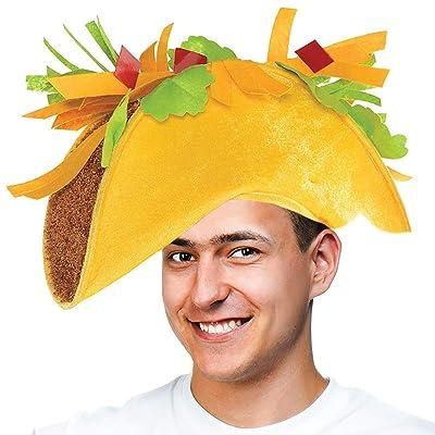 Tigerdoe Taco Costume Hat - Sombrero Headbands - Food Costumes - Costume Party Hat- Cinco De Mayo Hats - Fiesta Party (Taco Hat): Clothing