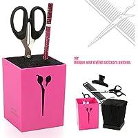 Caja de almacenamiento profesional de la belleza de los peines Caja de almacenamiento de las tiras de pelo de la…