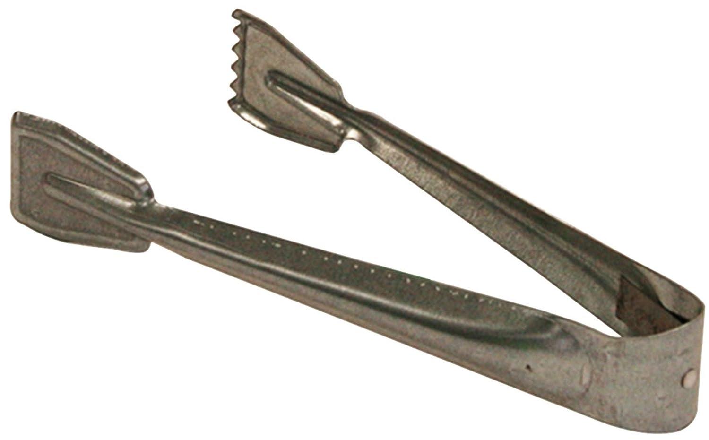 Kamino - Flam – Pinza para carbón (21,5 x 9 x 3,5 cm), Pinzas para chimenea, estufa o barbacoa, Alicate para carbón y leña, Tenaza de metal galvanizado para chimeneas – resistente y durable Kamino-Flam 333045
