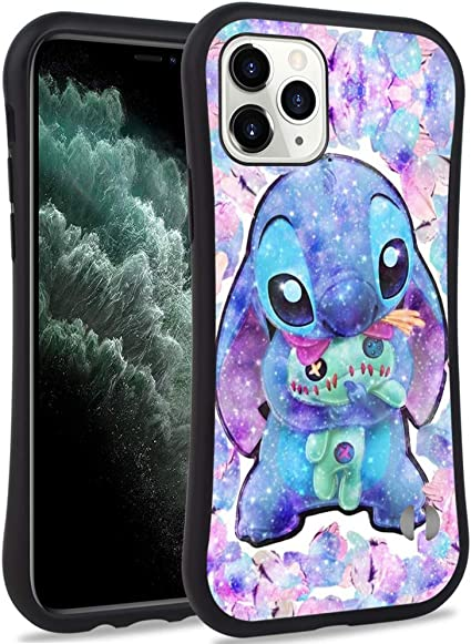 Lilo y Stitch suave TPU Silicona Funda Cubierta para Apple iPhone