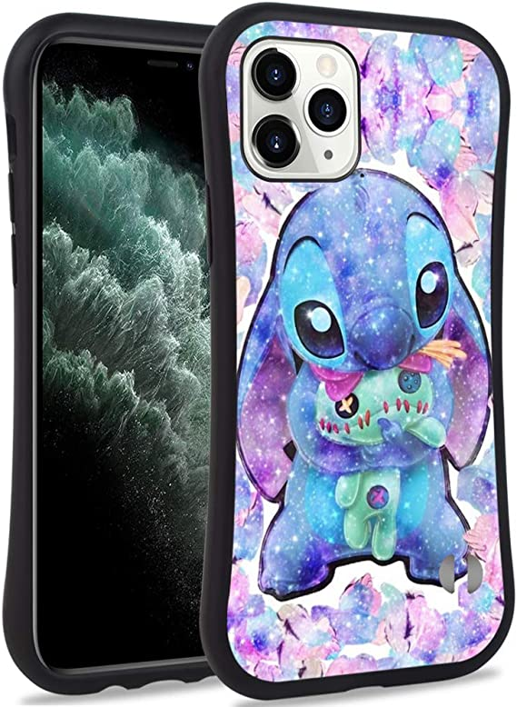 Stitch Cartoon Pattern Hard Back Case