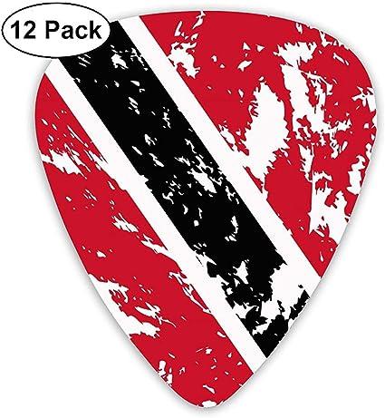 Dirty Trinidad and Tobago Flag 12 Pack Púas de guitarra, guitarras eléctricas y acústicas: Amazon.es: Instrumentos musicales