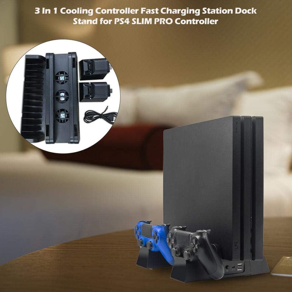 Rlorie SHOH - Base de enfriamiento para PS4/SLIM/PRO, Ventilador ...