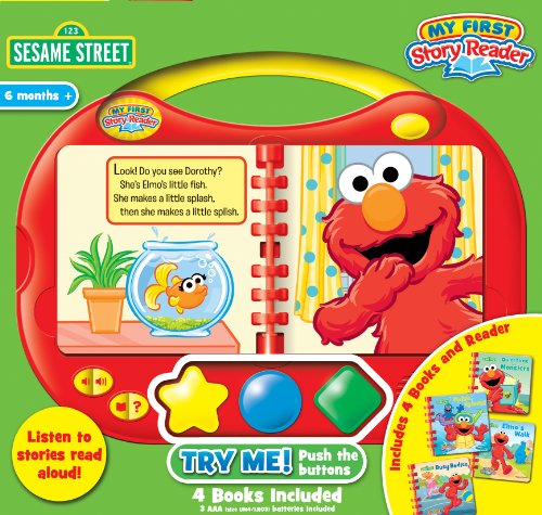 my-first-story-reader-and-sesame-street-4-book-library