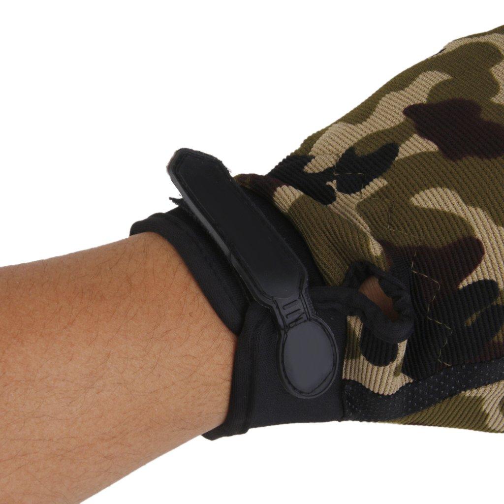 protecci/ón para tiro militares Guantes t/ácticos para hombre caza airsoft