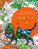 Mounts 4: Halloween coloring book (Volume 4)