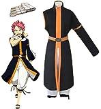 GK-O Anime Fairy Tail Natsu Cosplay Costume Dragneel 3rd Ver