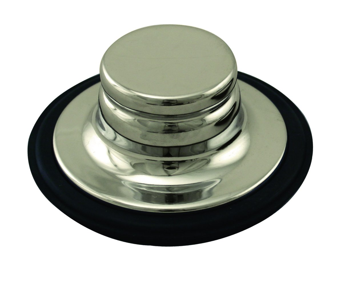 Westbrass InSinkErator Style Garbage Disposal Stopper, Polished Nickel, D209-05 by Westbrass