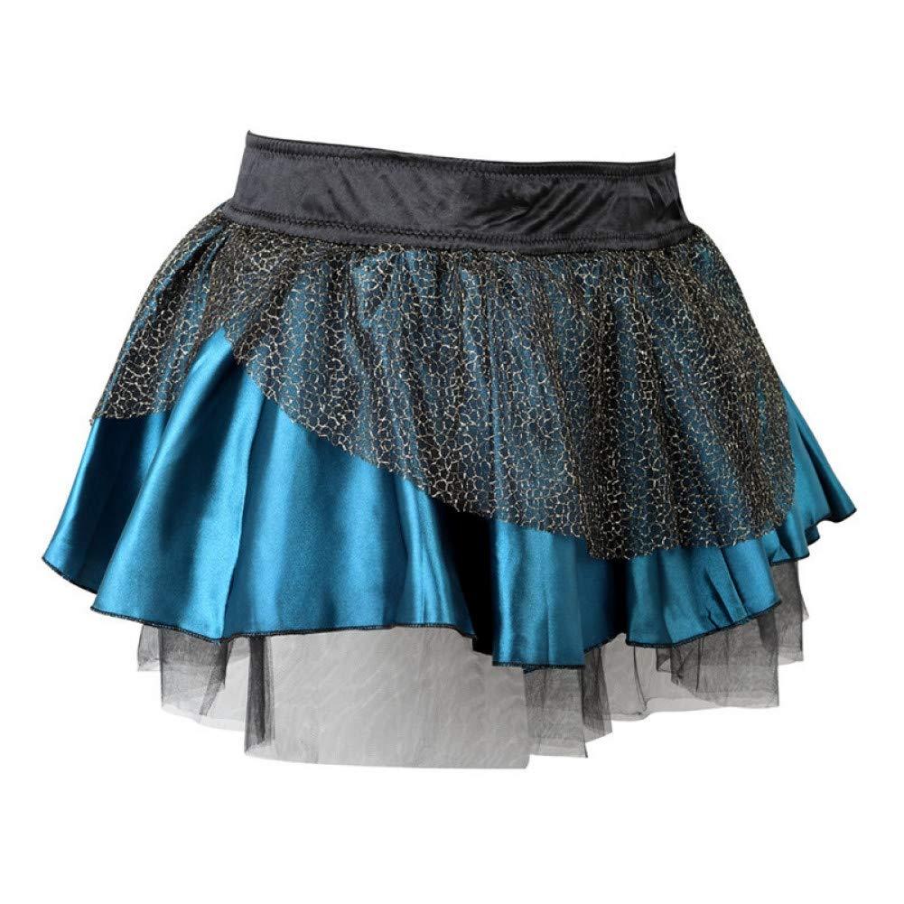 ZJSEHFSD Falda Tutu Lace Burlesque Disfraces Ropa Falda con ...