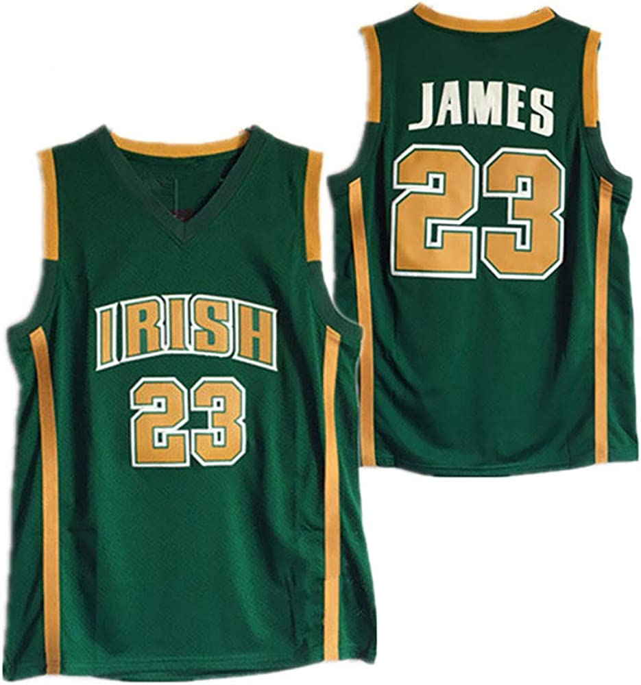 Camiseta de Baloncesto Hombres niños niños Lebron James # 23 ...