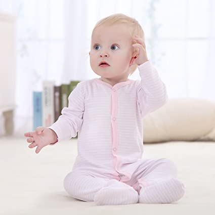 05fb217b0 decdeal 100% algodón bebé mono Pelele para recién nacido bebé niño Niña 3 –  12