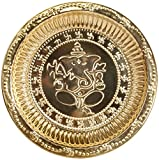 Ganesha Puja Thali - Brass