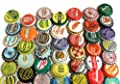 100 Vintage and Vintage Inspired Bottle Caps Random Mix from Bottle Cap Co