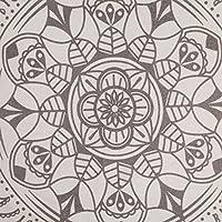 SHACOS Alfombra Redonda de algodón Alfombra Vintage Mandala Tejida ...