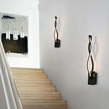 Led Lámpara de pared,Sala de estar Apliques de pared,Dormitorio ...