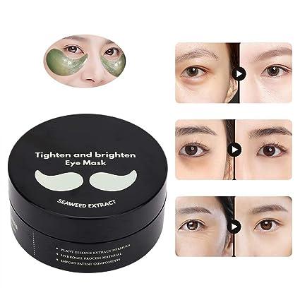 Máscara ocular blanqueadora de algas, que contiene extracto ...
