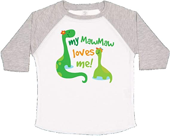 inktastic My Mawmaw Loves Me Girls Gift Toddler T-Shirt