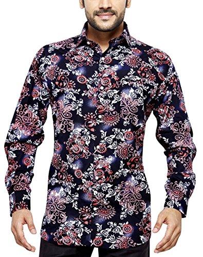 GORDON BISHOP Camicia Classica Uomo Casual a Maniche Lunghe Regular Fit S