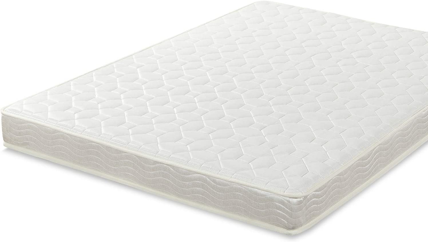 Best Price Mattress Twin Mattress – 6 Inch Tight Top Spring Mattresses Infused with Green Tea, Twin Size