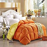 Cal King Vs King Comforter Size Yellow And Orange Comforter Teen Comforter Kids Comforter Down Alternative Comforter, Queen Size