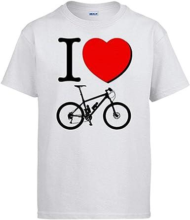 Diver Bebé Camiseta I Love Bicicleta: Amazon.es: Ropa y accesorios